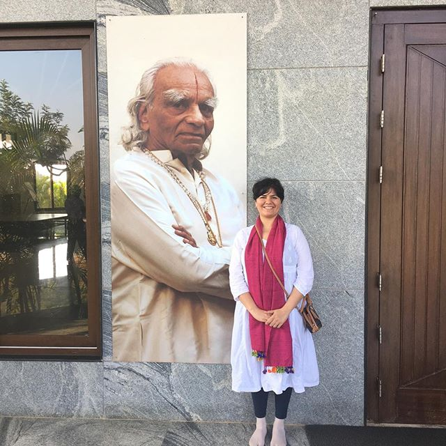 100th Birth Year of Guruji B.K.S Iyengar- so fortunate that I was able to visit his birth village this year and study with his foremost student Masterji S.F.Biria