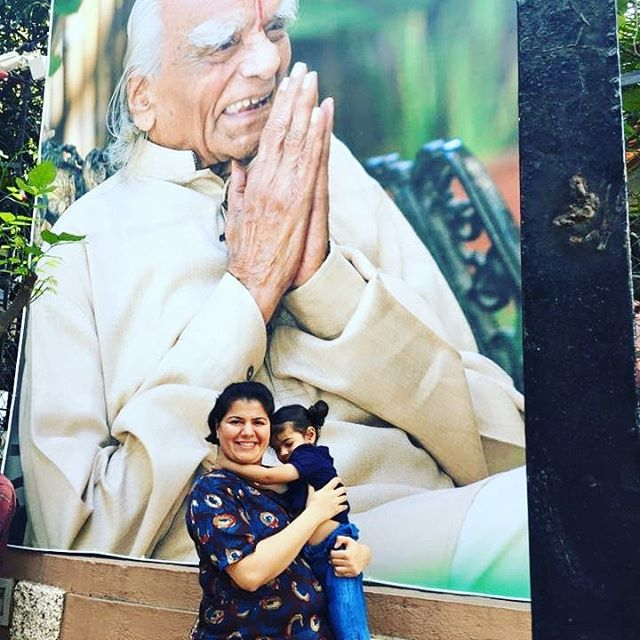 So excited that I will be able to be a part of Guruji Iyengar's 100 Birthday Celebrations! The zeros in the 💯 appear in the form of infinity suggesting that we move from the finite figure of '100' towards the infinite. Guruji's teachings being eternally contemporary goad us in that direction.