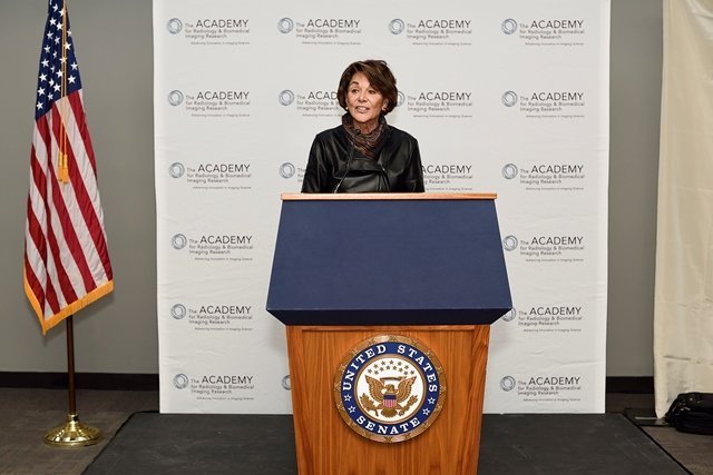 US Congresswoman Anna Eshoo highlighting CIBR 9th Technology Showcase