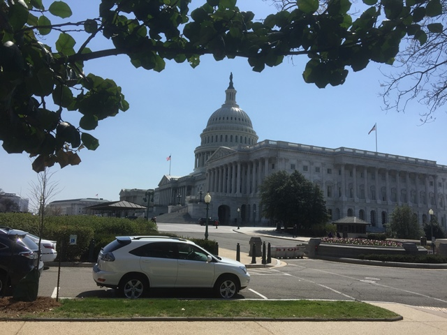 US Capitol – near Senate Hart Building – CIBR Showcase venue
