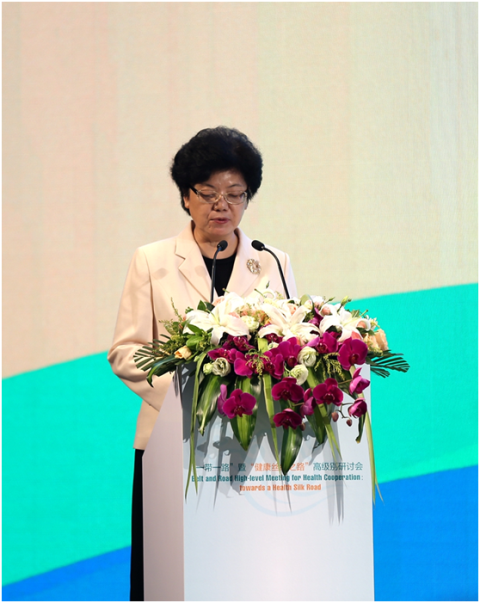 Bin Li, Minister of the National Health and Family Planning Commission Holds the Meeting