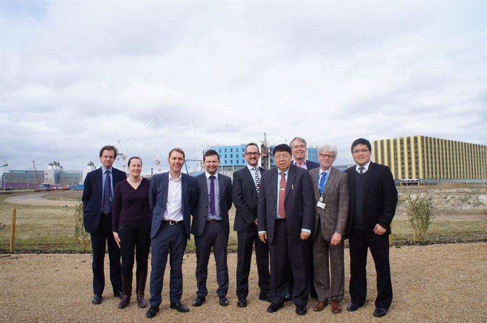 Professor Hans Hagen and his team welcomed Professor Ma at AstraZenerca site.