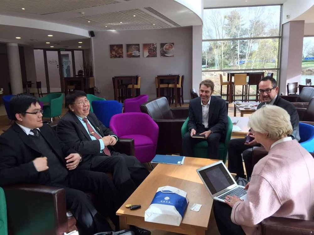 Time Medical team visited Biomedical Center of Oxford University.