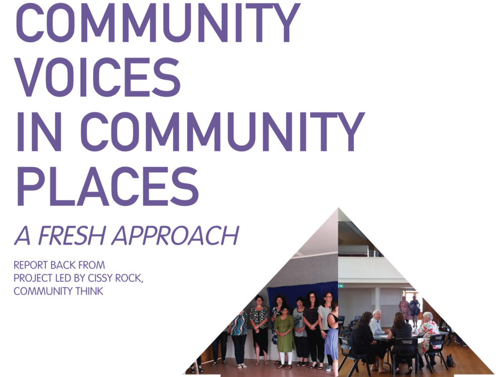 Community Voices in Community Places: A Fresh Approach