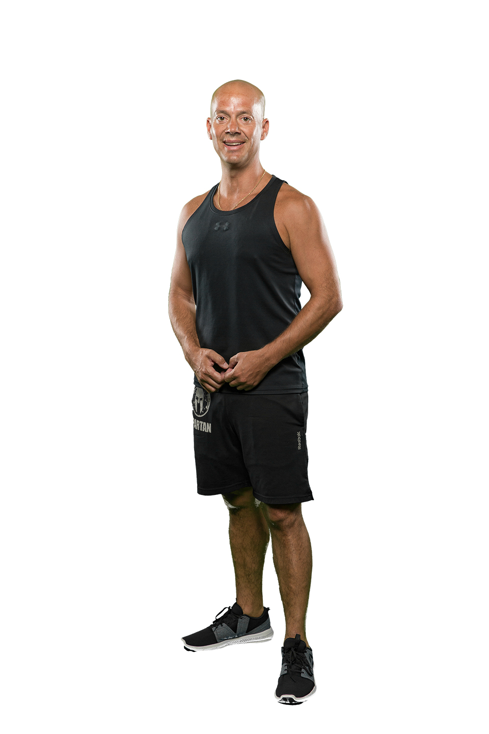 "Brian - BodyAttack InstructorBrian is a proud father of 2 boys and coaches their youth football team. He's always been involved in coaching sports. He thrives off of high energy, and can always be counted on to pass along that energy. His proudest moment in his athletic career so far is that he's the only person in Maine to complete the Spartan Ultra Beast in Killington, Vermont - it made the paper!Favorite quotes: ""Work hard, play harder!"" and ""Don't choose a path, blaze your own!"""