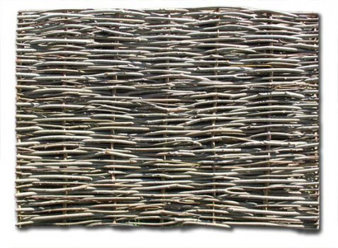 Maximum Density Single Weave Wattle Panel