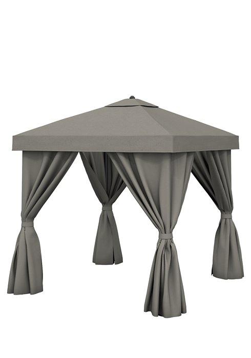 Aluminum Cabana, 8' Square w: Fabric Curtains & Vent.jpeg