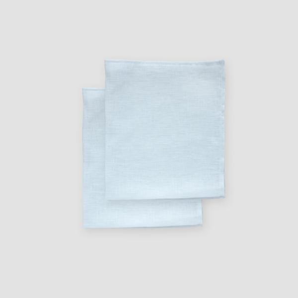 SKY BLUE | LINEN  Size: 50 x 50 cm  IDR 5,000/per piece  Qty Available: 99 pcs