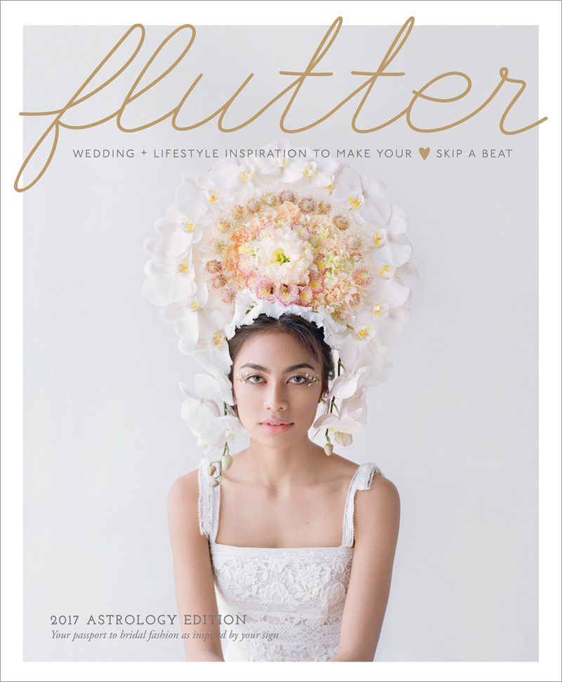 Flutter Mag   Issue No 13 Shot by  Elizabeth Messina