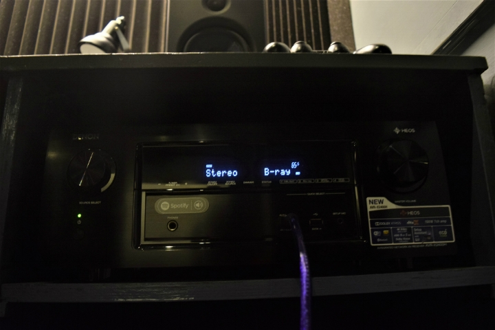 The mighty Denon 2400 AVR