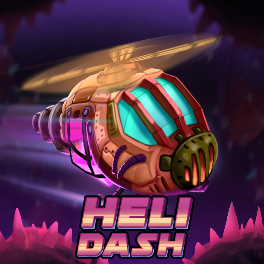 Heli Dash - Platforms - AndroidEver thought a game like Flappy Bird was super hard and wished it went easy on you? Well, here you go with Heli Dash, a charming twist on the 'tap to fly mechanic' with gorgeous visuals and addictive gameplay. If tapping wasn't enough, it has Dashing too that allows you to break through Obstacles and zip through tight spaces. The game teases your gamer ego so much that you cannot get enough of it!