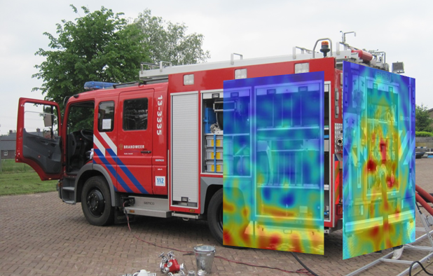 Sound analysis of a firetruck