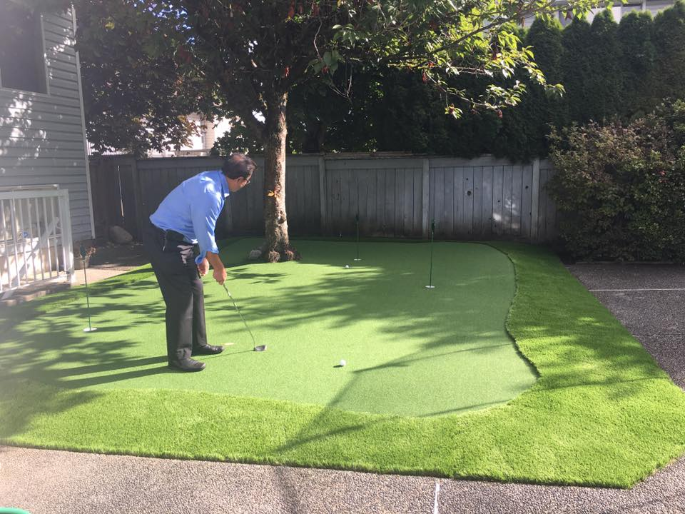 Synthetic Putting Greens by Tanner's Turf