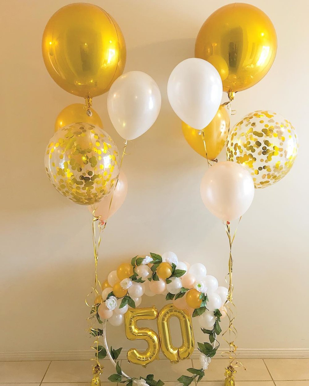 50th Birthday Miss Beckys Balloons
