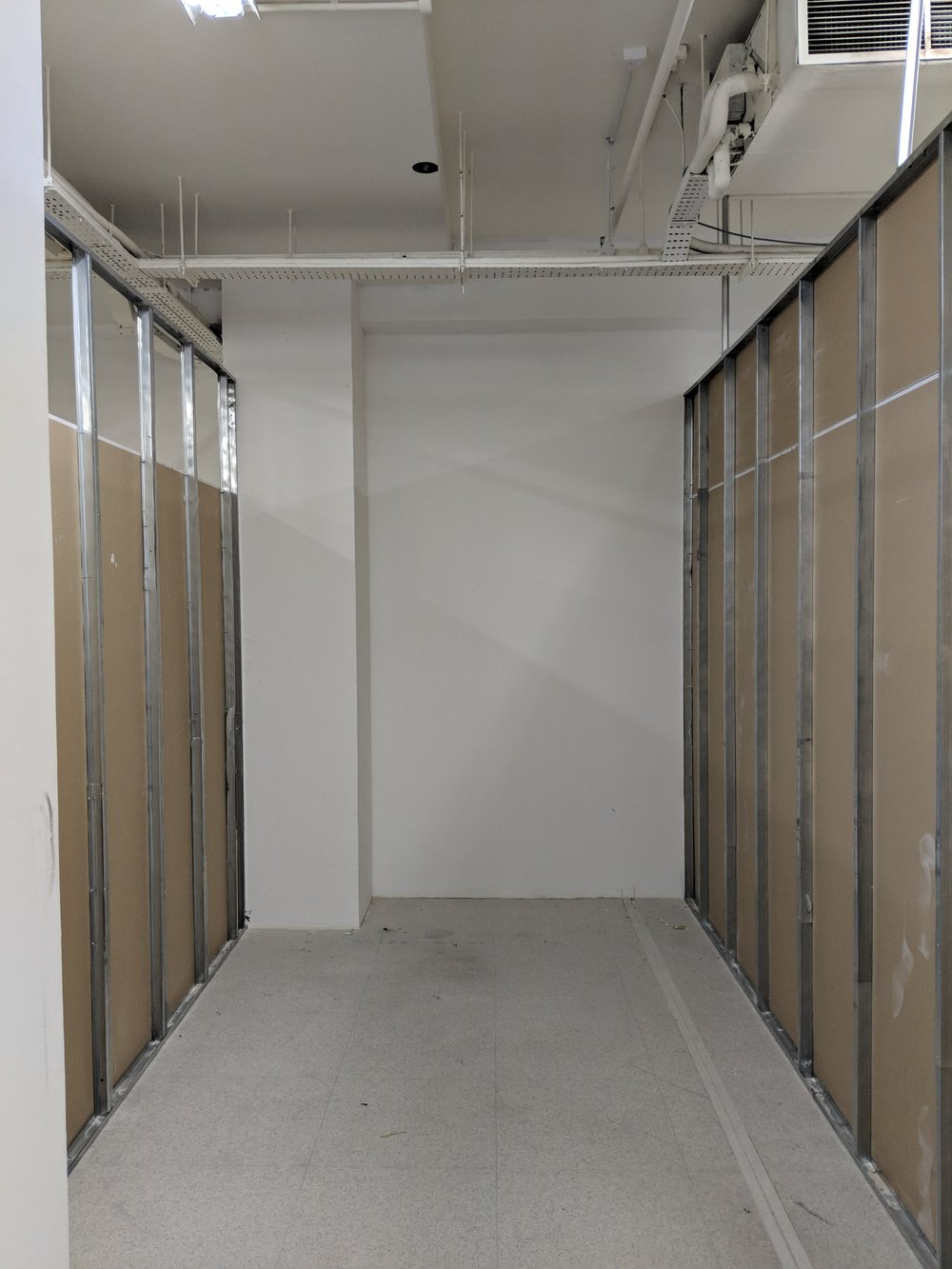 Late May - storage area