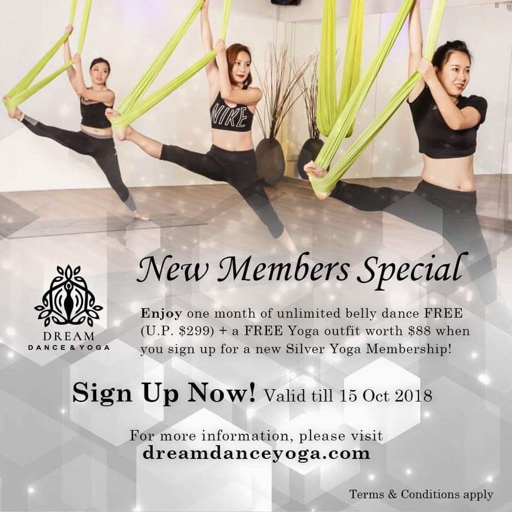 New Members Special - One Month Bellydance FREE!