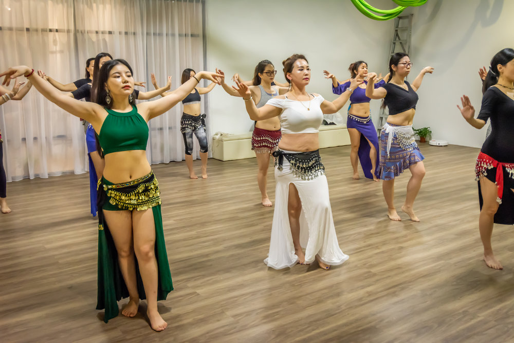 Dream Dance and Yoga Bellydance Technique Class