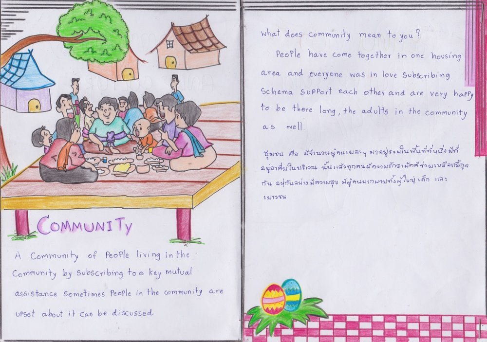 Maneemala, Wanpen, and Walaiporn - Mae La Noi Daroonsik School, Thailand