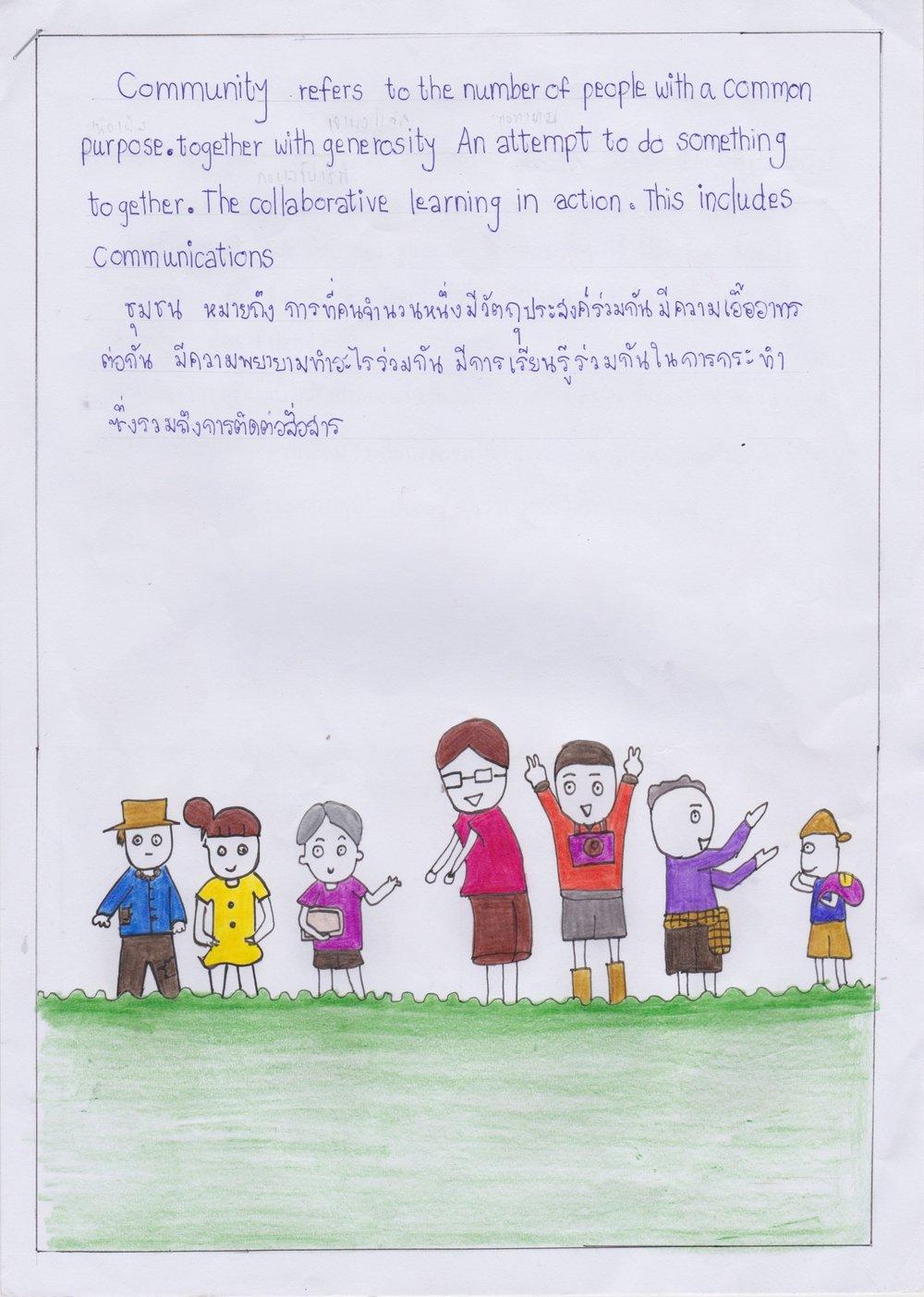 Wanladda, Jenjera, and Kanjana - Mae La Noi, Thailand