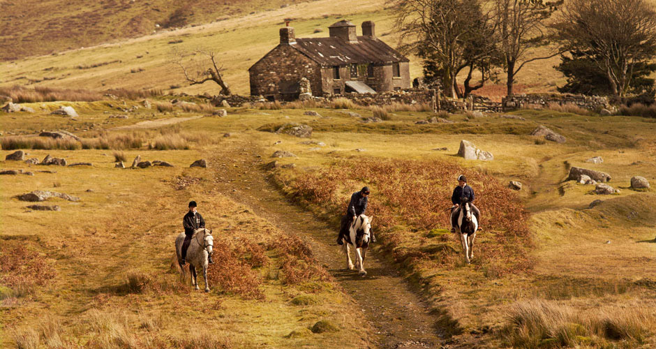 Horse-riding with Liberty Trails