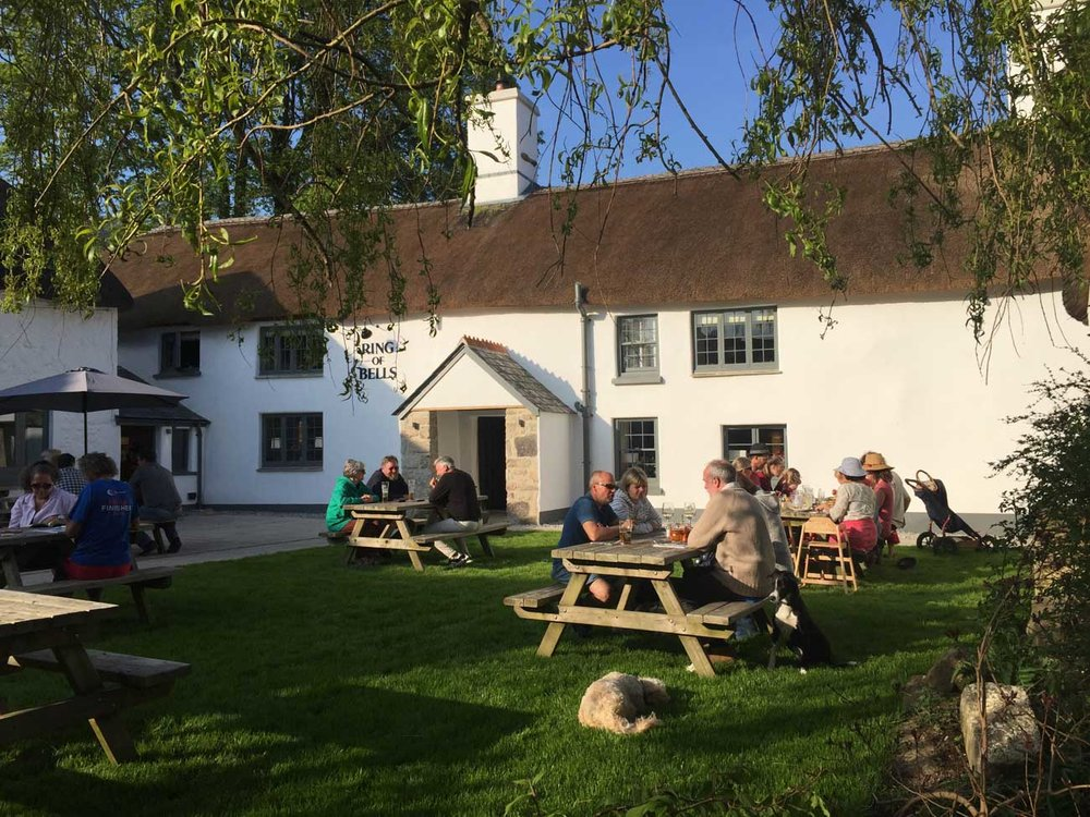 The Ring of Bells pub, North Bovey
