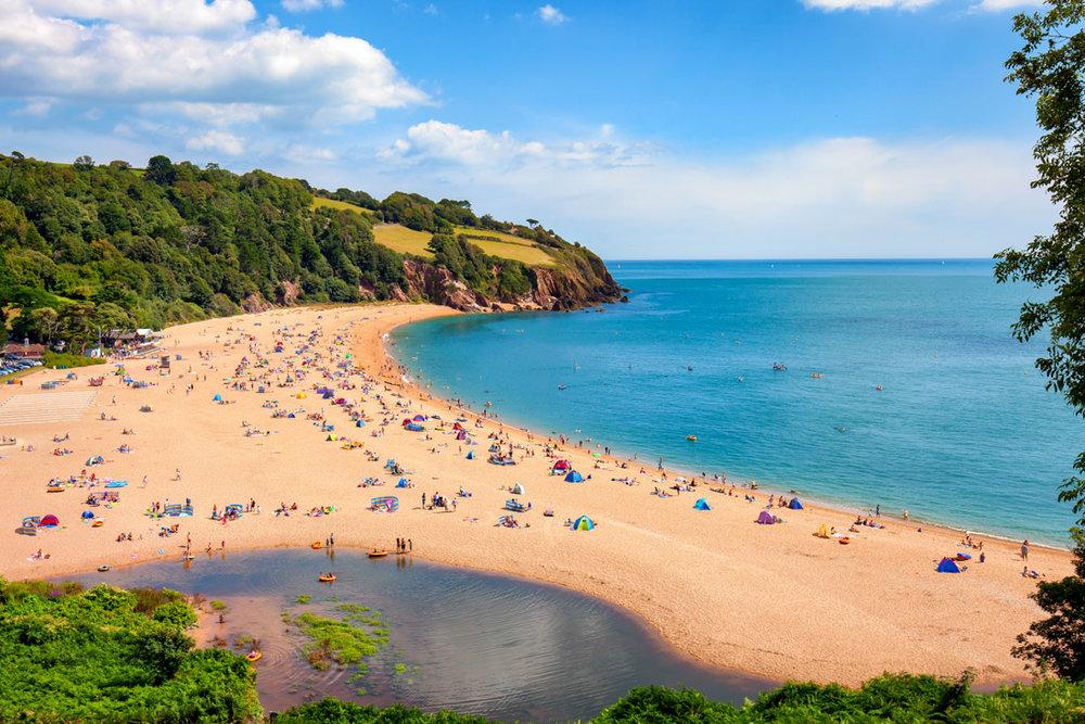 Blackpool Sands, South Devon