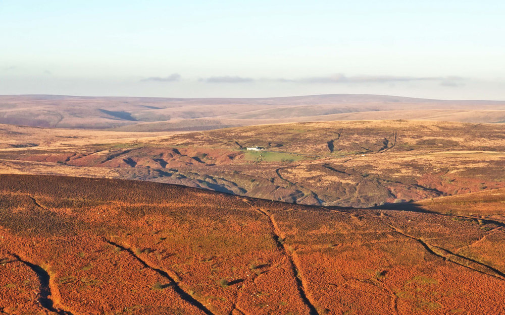 The view from Hameldown Tor (photo: Alex Graeme)