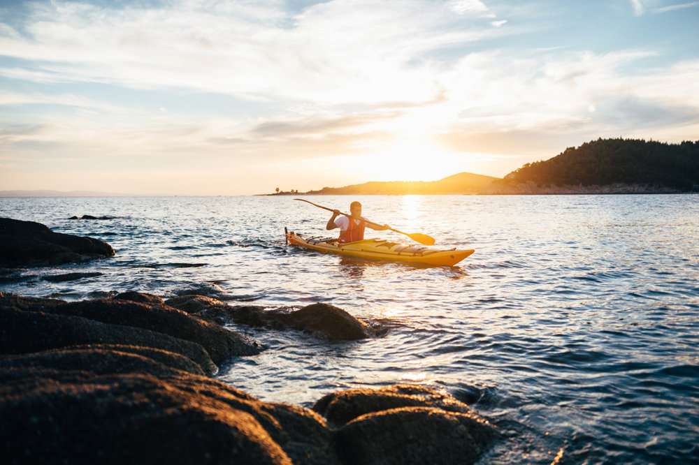 Sea kayaking with Sea Kayak Devon