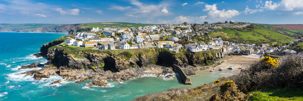 The Cornish fishing village of Port Isaac
