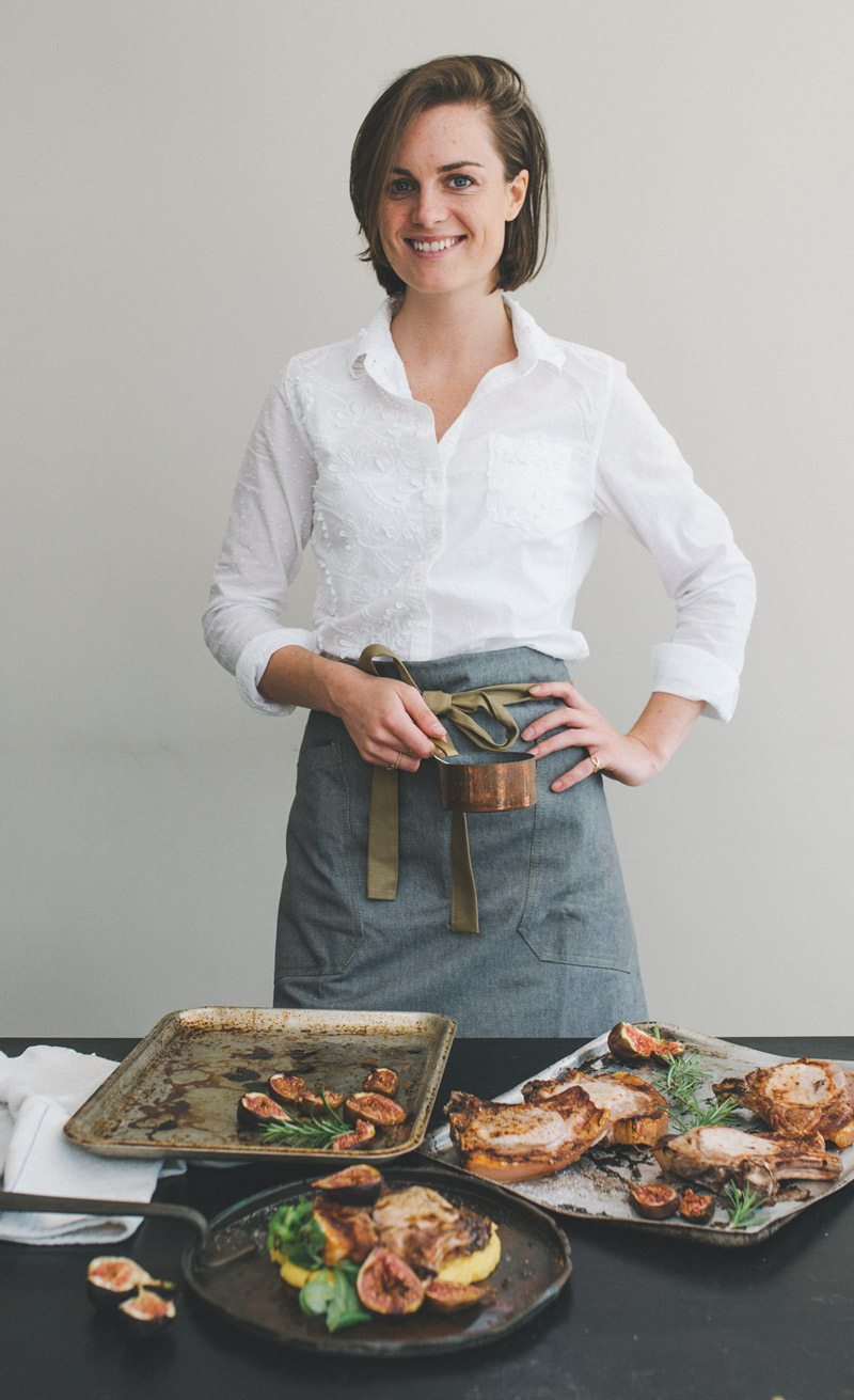 Harrie Kivell, private chef at Moorland View Cottage