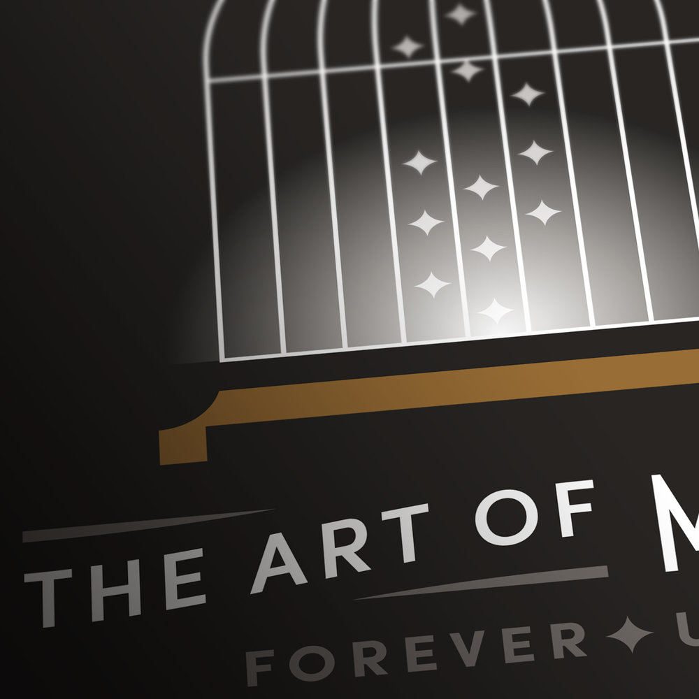 The Art of Magic Bird Cage Stamp Detail