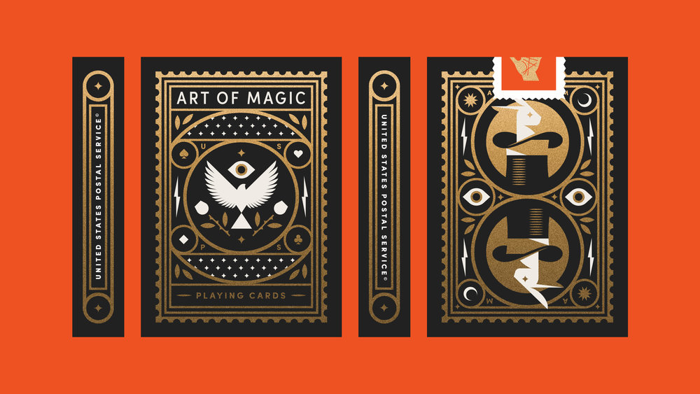 The Art of Magic Playing Card Box
