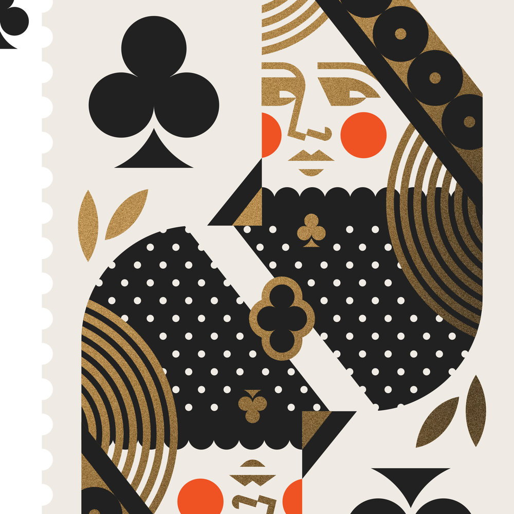 The Art of Magic Queen of Clubs