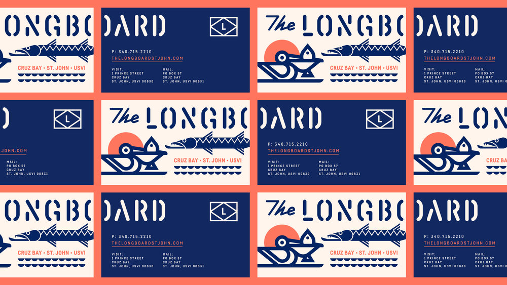 The Longboard Business Cards