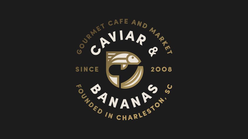 Caviar & Bananas Logo