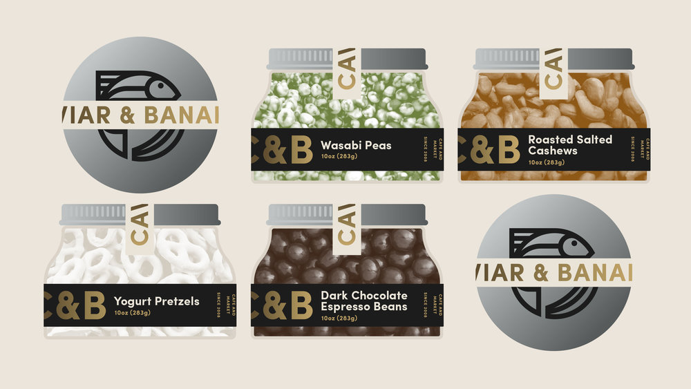 Caviar & Bananas Container Packaging