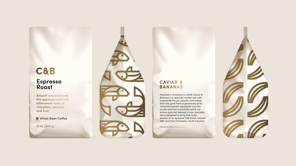 Caviar & Bananas Coffee Bag