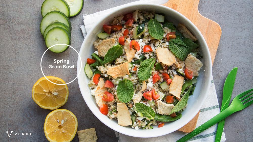 Verde Salad Restaurant Photo Treatment