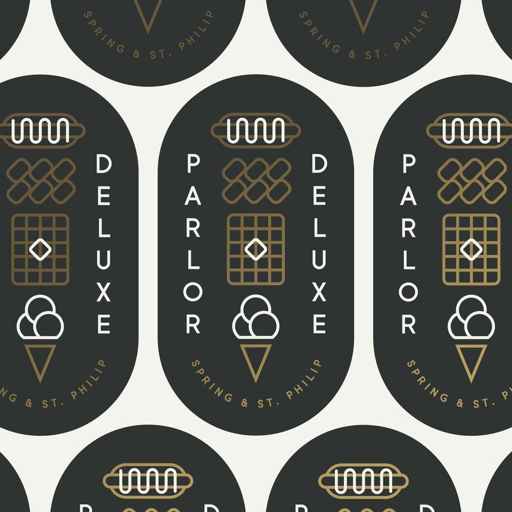 Parlor Deluxe Logo Seal