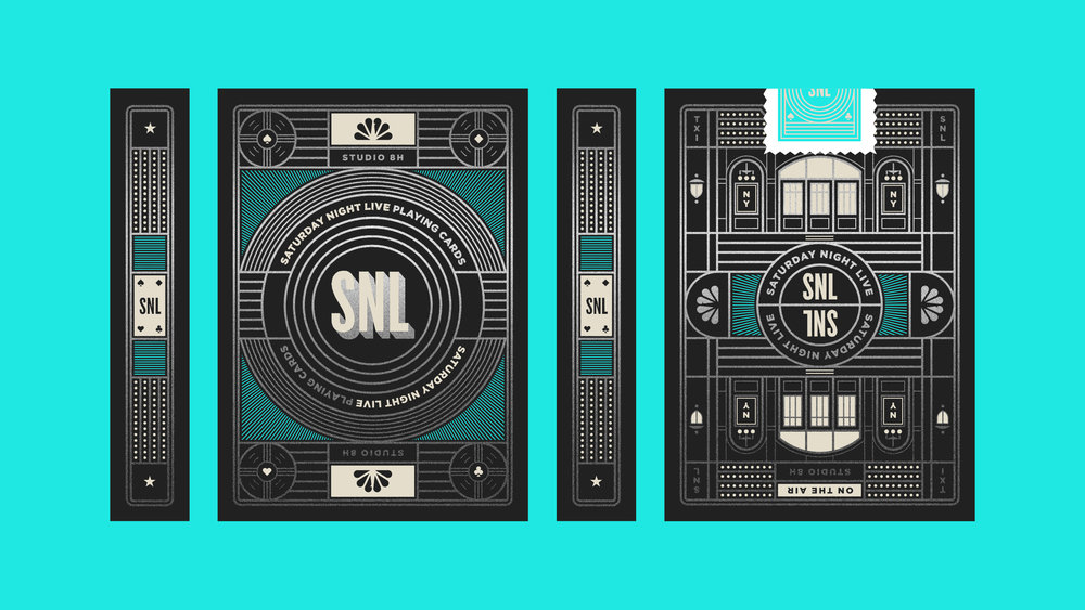Saturday Night Live Playing Card Box