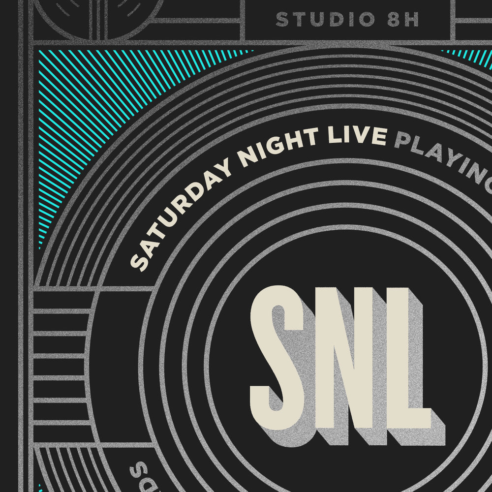 Saturday Night Live SNL Logo