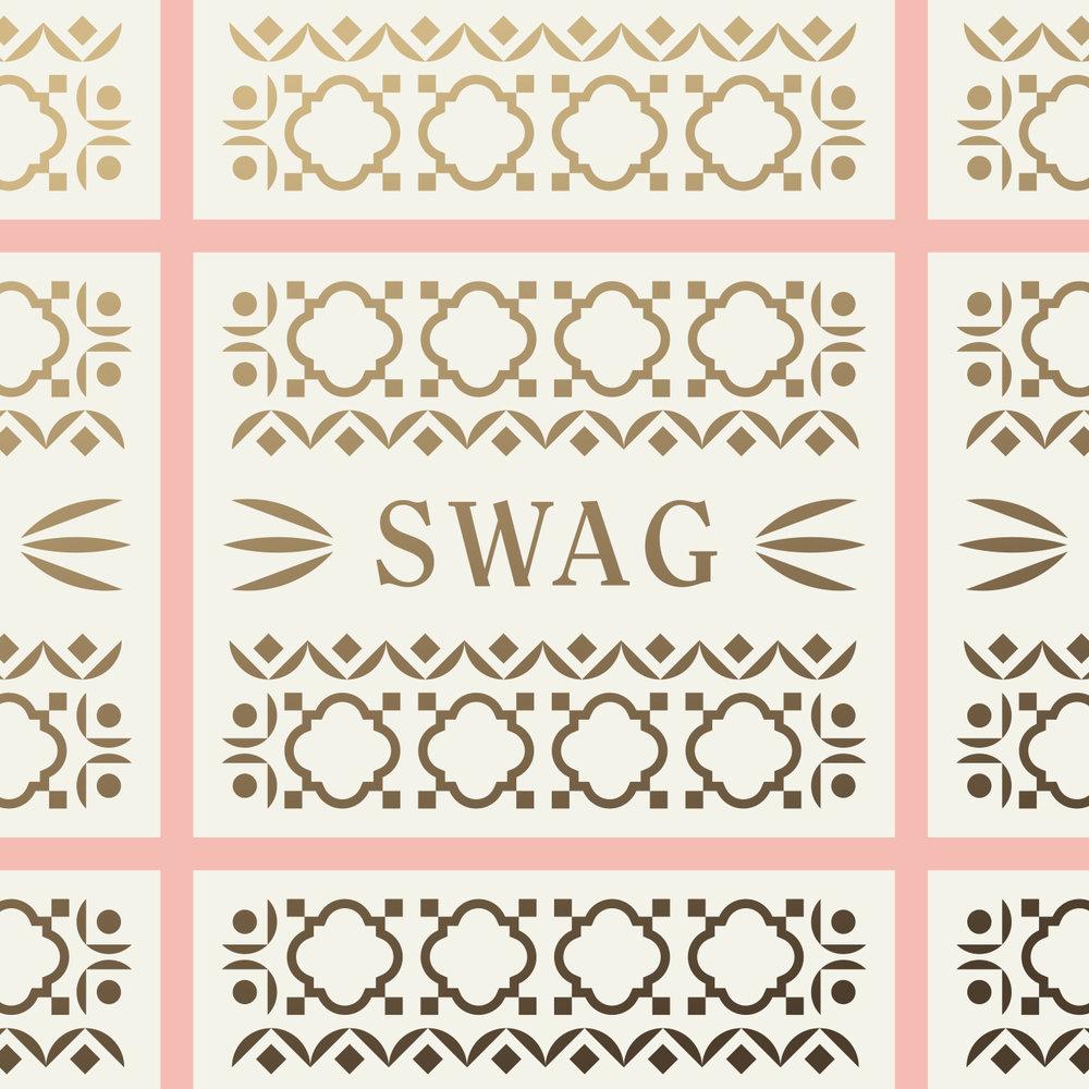 El Thrifty Restaurant Swag Pattern