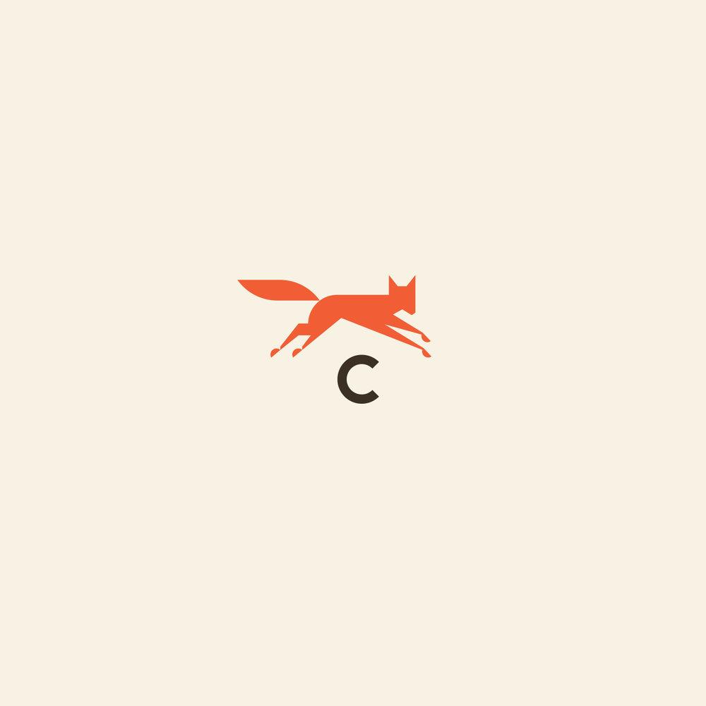 Calhoun's Bluffton Fox Logo