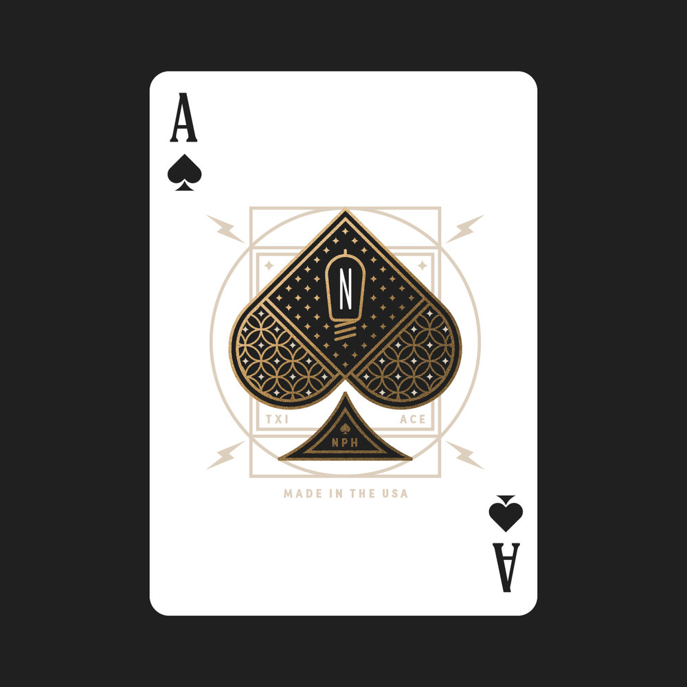 Neil Patrick Harris Playing Card Ace of Spades