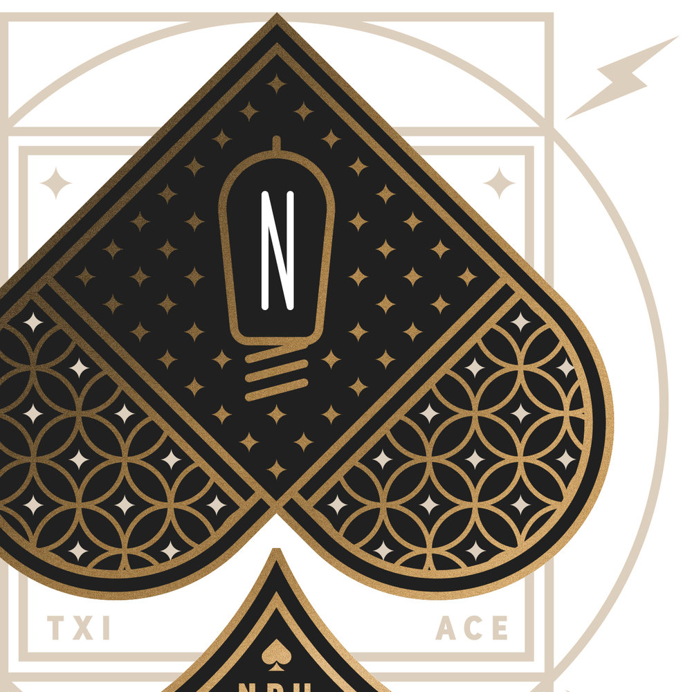 Neil Patrick Harris Playing Card Ace of Spades Detail
