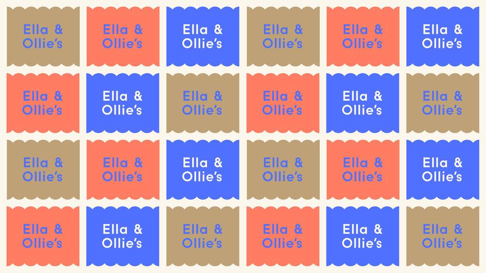 Ella & Ollie's Logo Pattern
