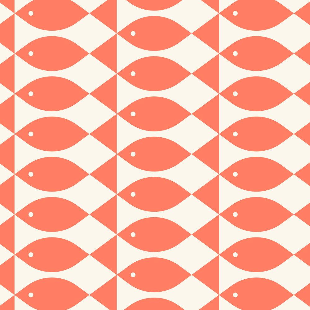 Ella & Ollie's Fish Pattern