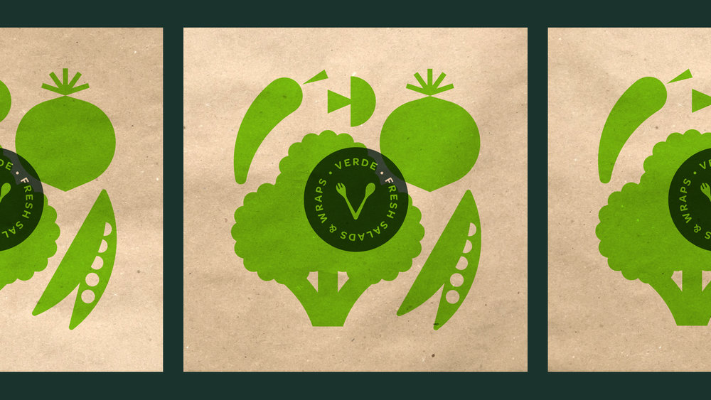 Verde Salad Restaurant Bags