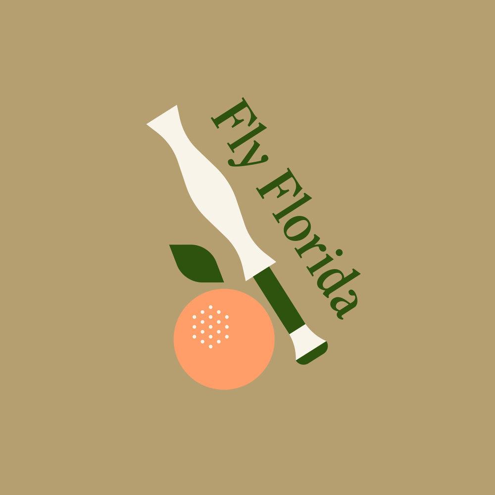 239 Flies Fly Florida Orange Rod