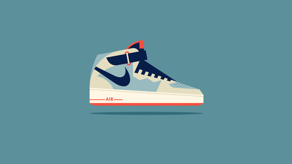 Nike Air Force One Illustration